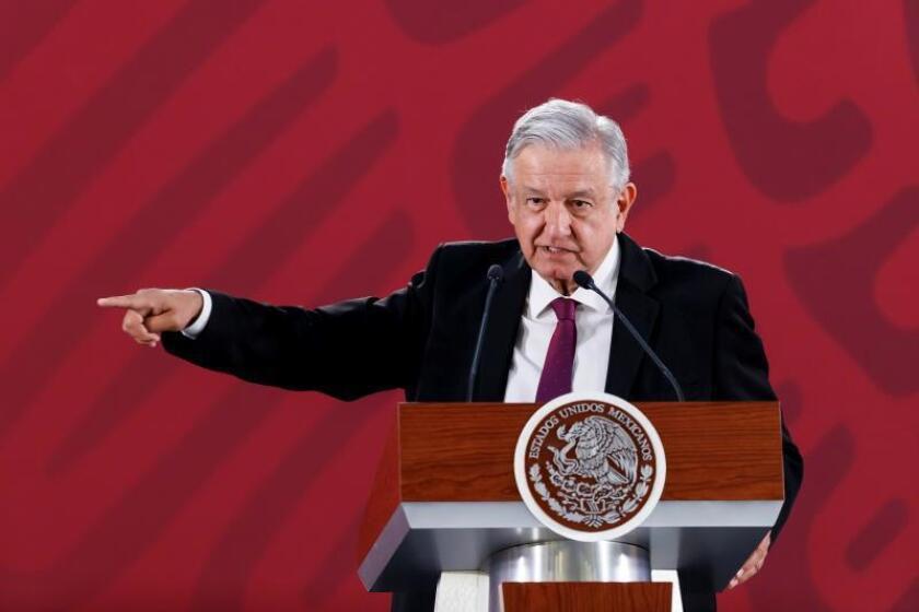 López Obrador convoca a acto de unidad nacional y amistad con EE.UU el sábado