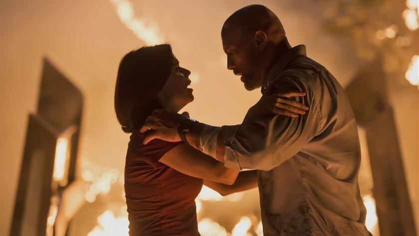 "Global icon DWAYNE JOHNSON leads the cast of Legendary's ""Skyscraper"" as former FBI Hostage Rescue T"
