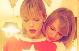 Taylor Swift named godmother to Jamie King's baby