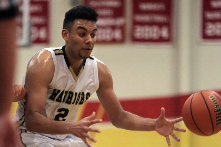 Army-Navy senior Caleb Morris finished with 16 points in the Warriors' win over Francis Parker on Friday.