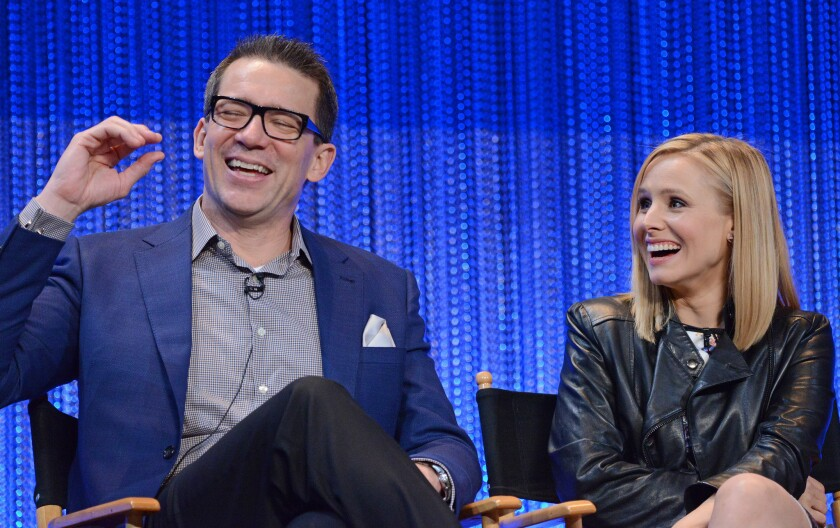 Rob Thomas hopes 'Veronica Mars' fans will get out of the house to view the flick