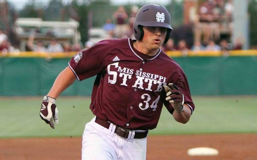 Mississippi State outfielder Hunter Renfroe is a likely first-round selection in the MLB draft.