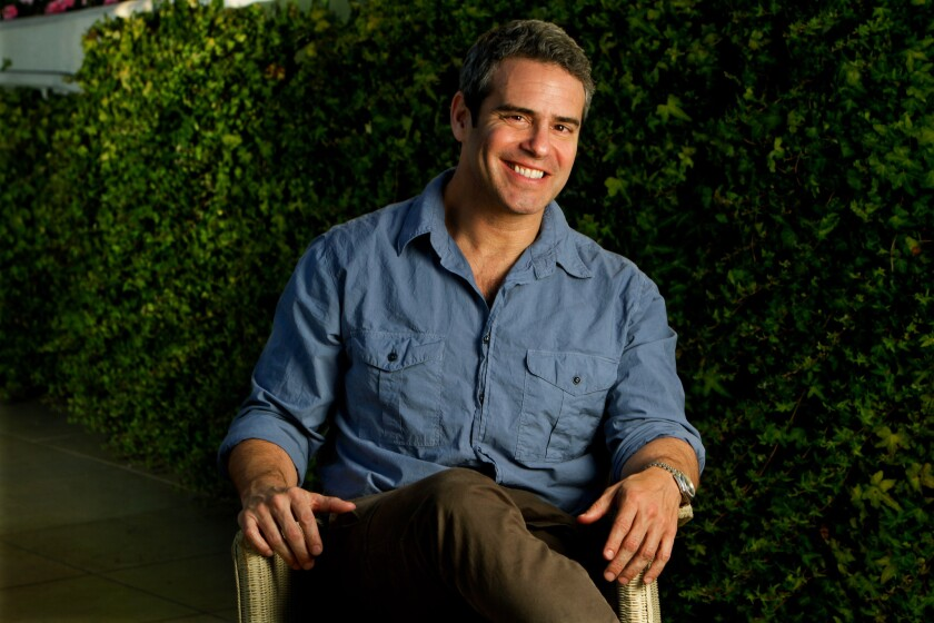 """Watch What Happens Live"" host Andy Cohen documents his daily adventures in a new book."