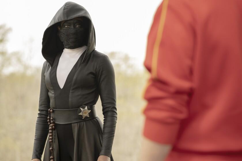 "Regina King in ""Watchmen"""