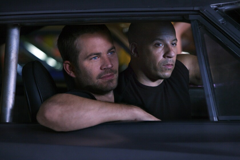 Paul Walker, who died at 40 in car crash in Valencia, had been filming Fast Five with costar Vin Diesel at the time of his death.