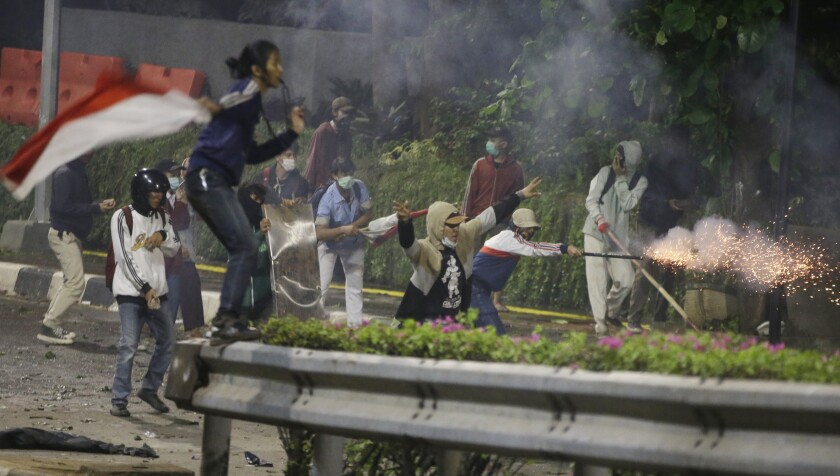 Indonesia Student Protests