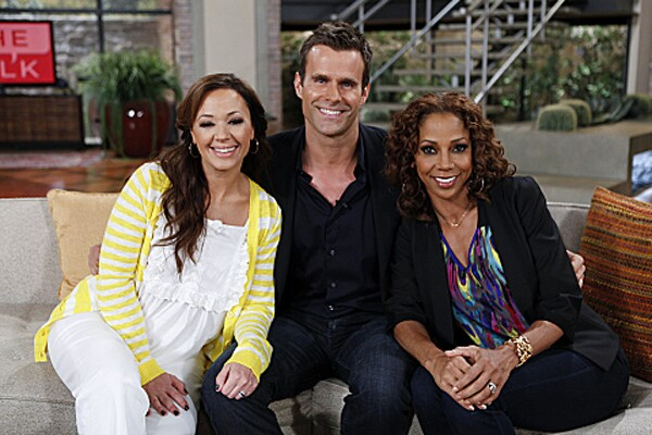 """Abruptly departed: Leah Remini and Holly Robinson Peete (pictured with Cameron Mathison) Lasted: One season (2010-2011) Why they left: Much speculation has been made over the co-hosts' abrupt exits. At first, rumors swirled that fellow """"Talk"""" personality Julie Chen was behind the axings (she's married to CBS executive Leslie Moonves). Later, Remini accused Sharon Osbourne, tweeting, """"Sharon thought me and Holly were 'ghetto.' """" Although Osbourne denied it. How it went down on air: Awkwardly, the show avoided Remini and Peete's departures when it returned for a second season in September 2011. Of course, they weren't the only stars who left before their TV show had given up its soundstage. Here's a look at cast members from other programs who left their roles early and how they were replaced."""