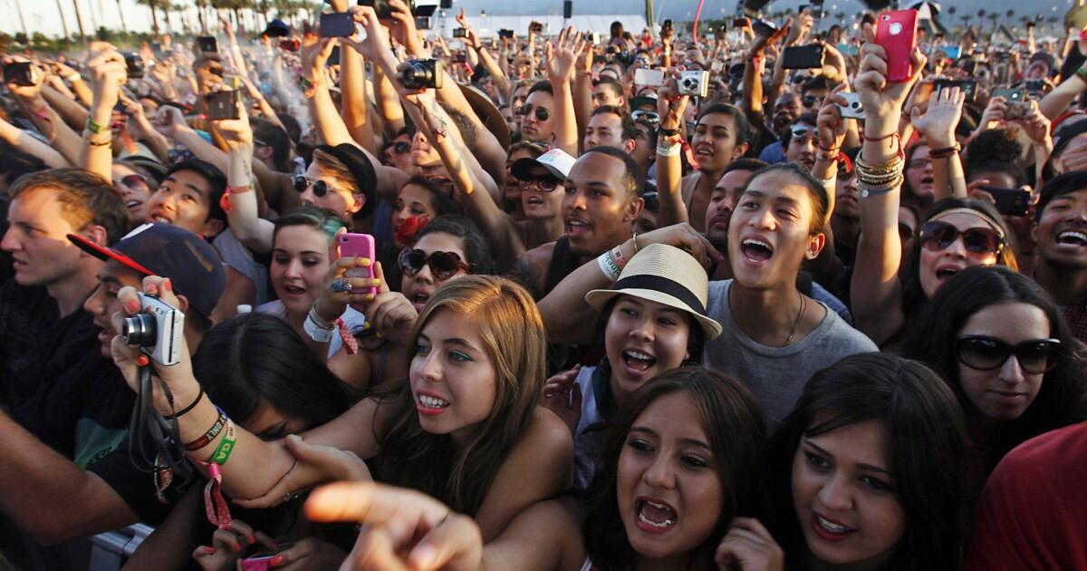 Auf dem Coachella-festival kann nachgeholt werden durch Corona-Virus Bedrohung