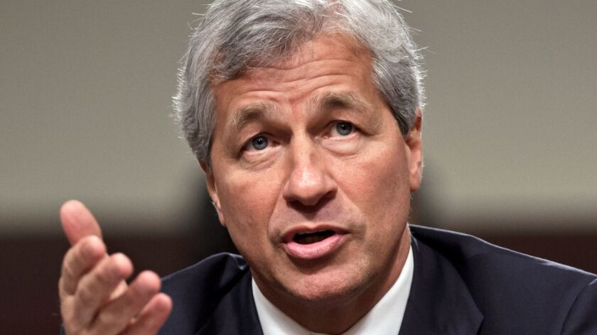 He only wants to help you, right? JPMorgan Chase CEO Jamie Dimon, seen here during Congressional testimony in 2012.