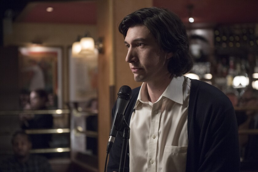 """In """"Marriage Story,"""" Adam Driver delivers a heartbreaking performance of """"Being Alive"""" from the musical """"Company."""""""