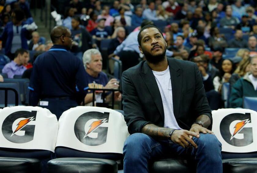 Carmelo Anthony, nuevo jugador de los Rockets de Houston. EFE/Archivo