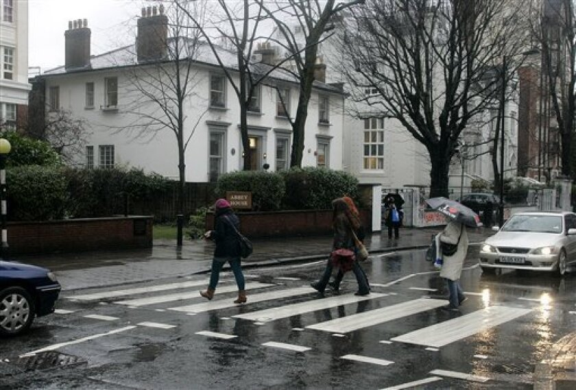 National Trust may save Abbey Road studios - The San Diego Union-Tribune