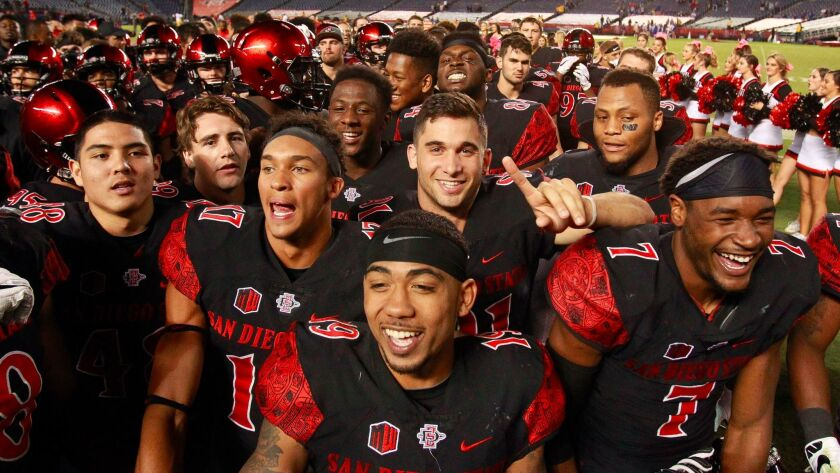 San Diego State comes into this weekend's Mountain West game at Wyoming ranked No. 24 in the nation in the Associated Press top 25 poll.