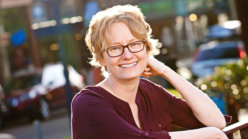 "Amy Stewart, author of the novel ""Girl Waits with Gun"" published by Houghton Mifflin Harcourt."
