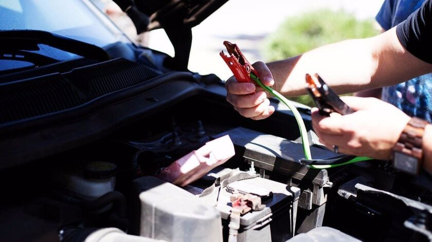 MYCHANIC's Smart Booster Cables take the sparks out of jump starting a vehicle.