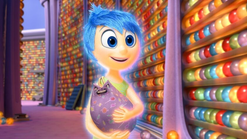'Inside Out' was nominated for an Annie Award on Tuesday morning for best animated feature of 2015. It also earned several other Annie nominations including director for Pete Docter and voice acting for Amy Poehler as Joy.