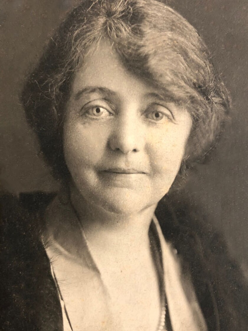 Winifred Davidson was a top authority on San Diego's pioneer Spanish, Mexican and early Anglo-American heritage.