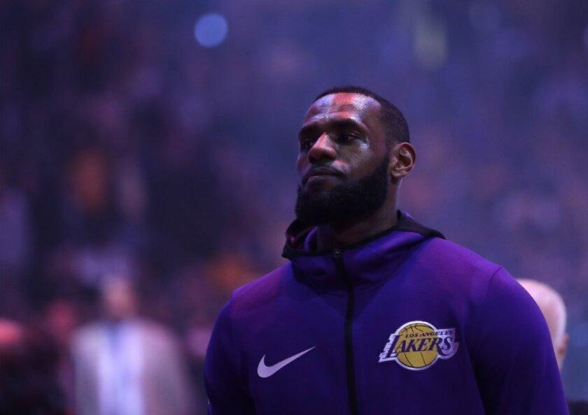 LeBron James: voy a buscar ayuda de élite para los Lakers