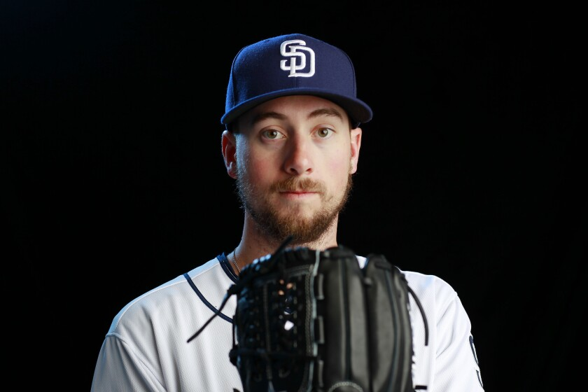 San Diego Padres pitcher Kyle McGrath.