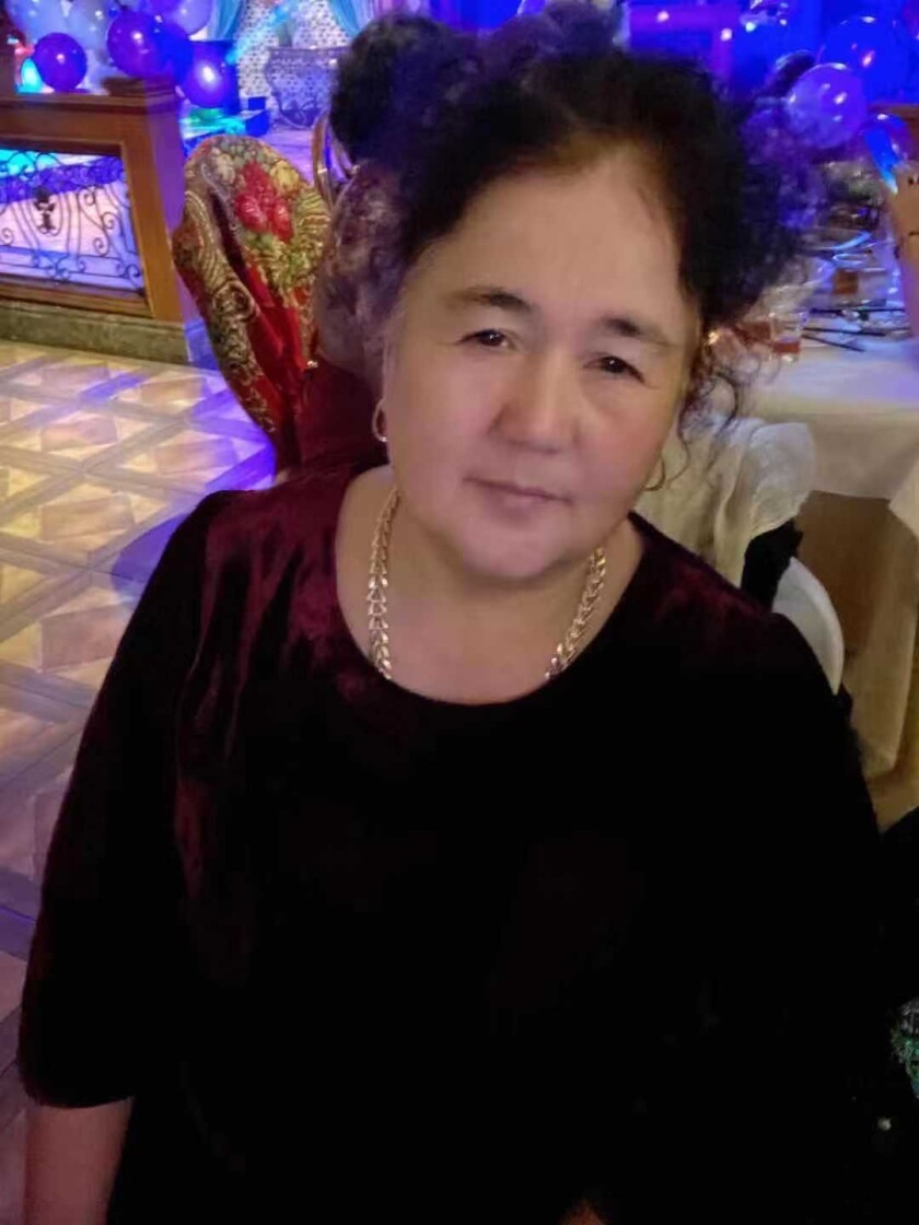 Zulhayat Yaermaimaiti's mother, who lives in Xinjiang, has suffered high blood pressure, heart disease and poor mental health since the detentions of her husband and son.
