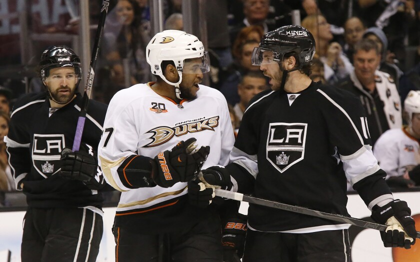 Devante Smith-Pelly, Mike Richards