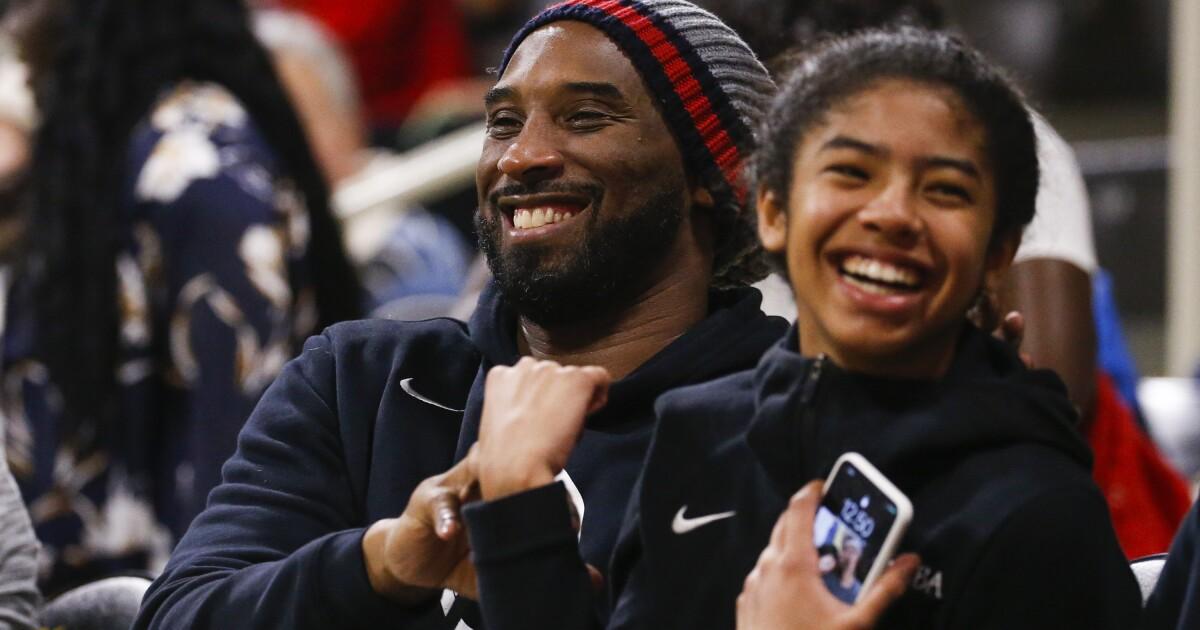Ο Kobe Bryant και η κόρη του Γιάννα που ήταν θαμμένα σε μια ιδιωτική οικογενειακή υπηρεσία την περασμένη εβδομάδα