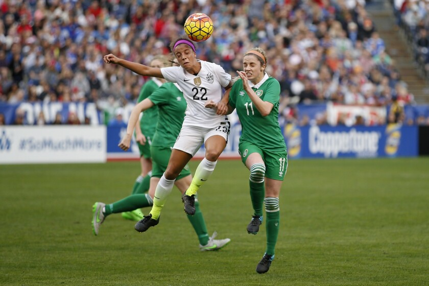 Mallory Pugh, 17, becomes youngest woman chosen for U.S. Olympic soccer qualifying roster