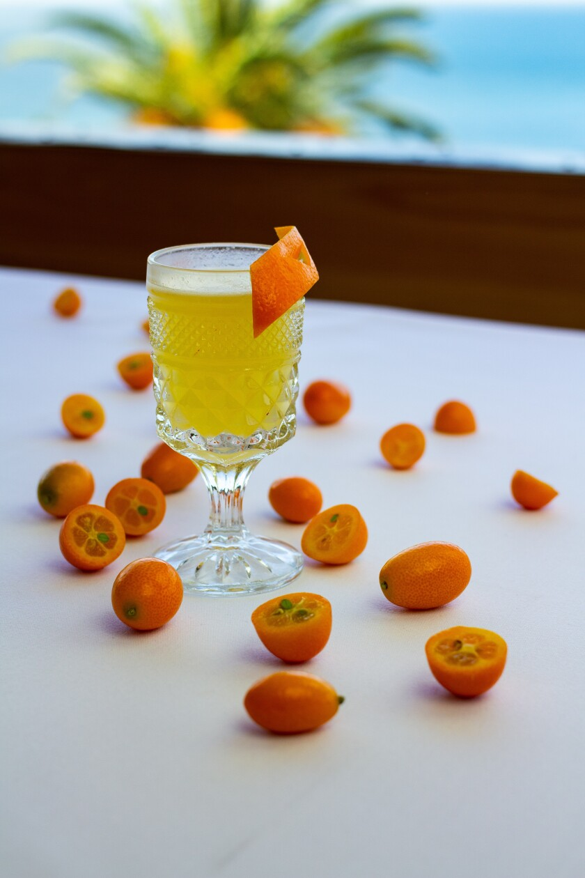 The Last Kumquat blends Appleton Estate rum with a house kumquat cordial.