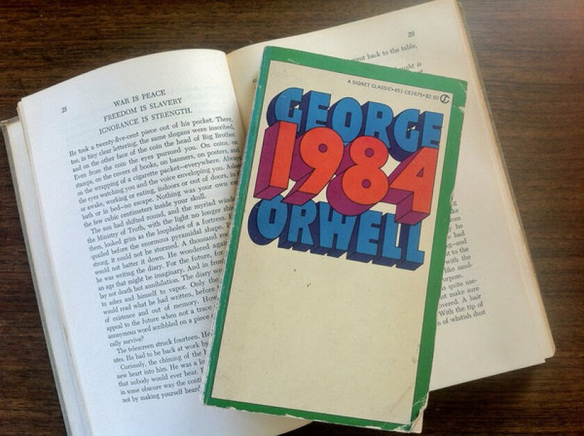 George Orwell's sometimes controversial book.