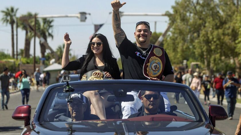 Bryce Miller: Big spotlight means 'everything changed' for boxing champ Andy Ruiz Jr.