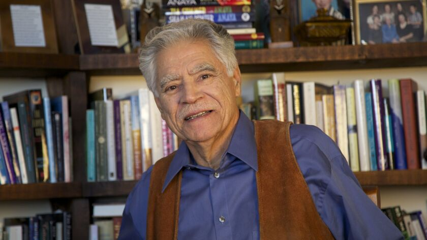 """Author Rudolfo Anaya of the classic Chicano coming-of-age novel """"Bless Me, Ultima. """""""