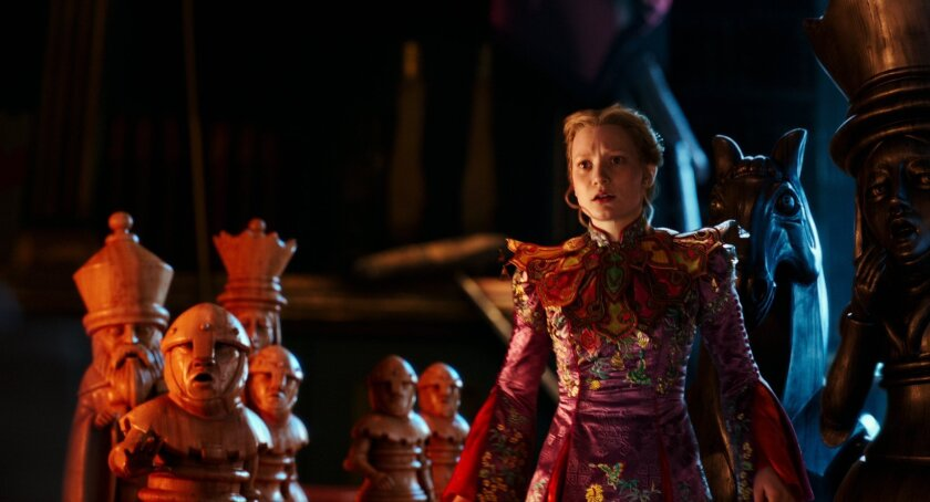 "Mia Wasikowska plays Alice in Disney's ""Alice Through the Looking Glass."""