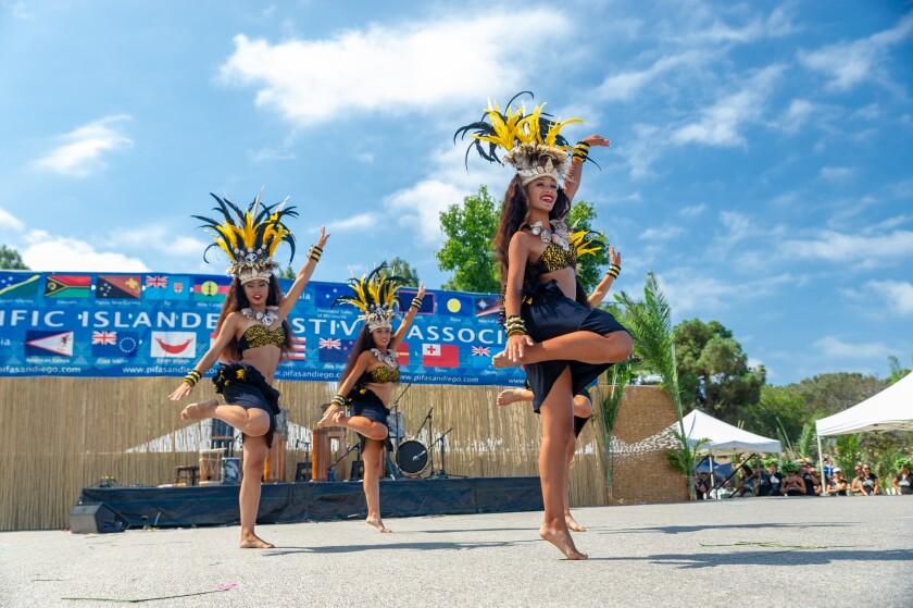 A photo of Pacific Islander Festival