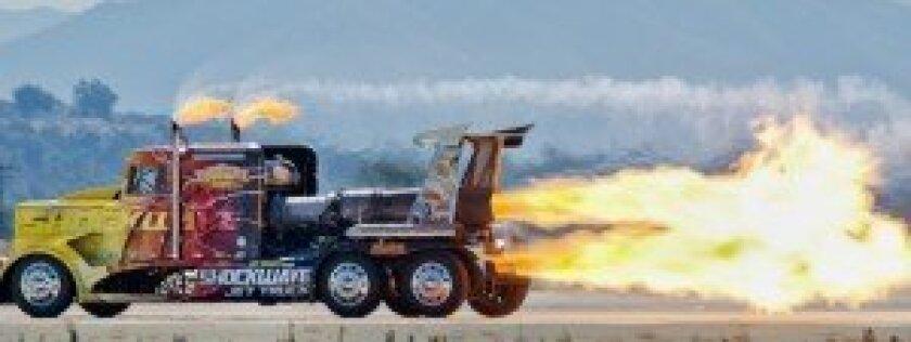 'Shockwave' Jet Truck