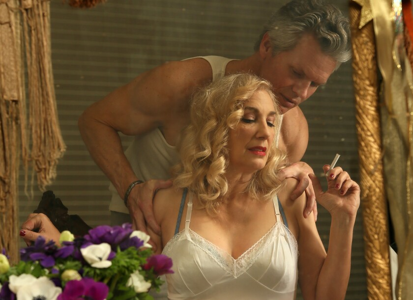 Susan Priver and Max E. Williams costar in the classic Tennessee Williams drama A Streetcar Named De