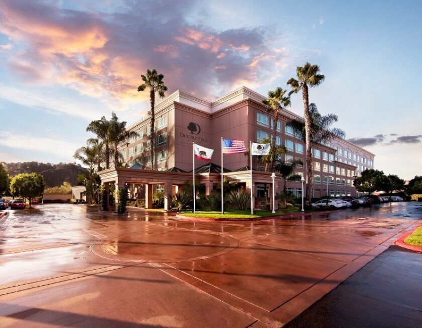 The DoubleTree San Diego-Del Mar.