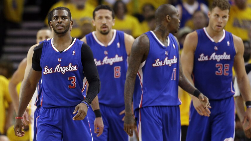 Clippers teammates