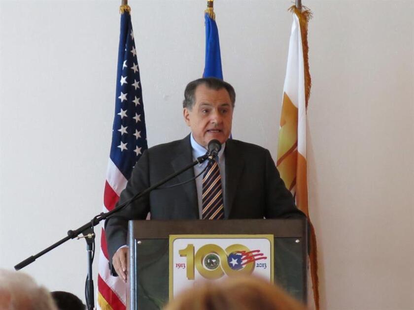 """El exgobernador de Puerto Rico Rafael Hernández Colón (1972-1976, 1984-1992), de 82 años, se encuentra ingresado en un hospital de San Juan, en """"estado estable"""". EFE/Archivo"""