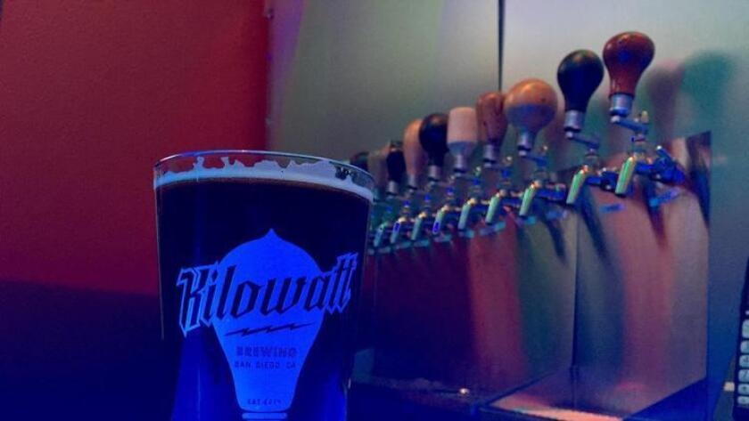 Kilowatt is turning a year old! Celebrate with Kilowatt as it will be decked out with black lights, special beer releases, anniversary glassware, and t-shirts. Enjoy special anniversary menus from Abu's Kitchen and Grillfellas BBQ. 5 p.m. to 12:30 a.m. Kilowatt Brewing, 7576 Clairemont Mesa Blvd., San Diego. Free admission. (858) 714-3998 or kilowatt.beer (Liz Bowen)