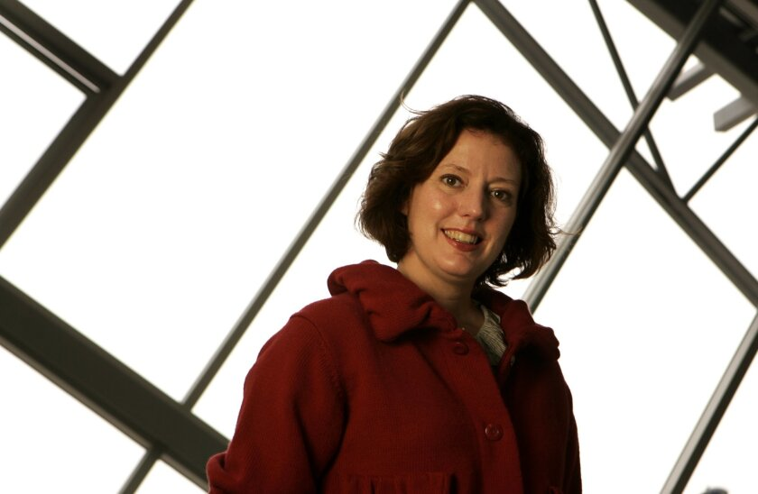 Rachel Teagle helps lead the effort for hands-on art experiences at the New Children's Museum. (U-T file photo)