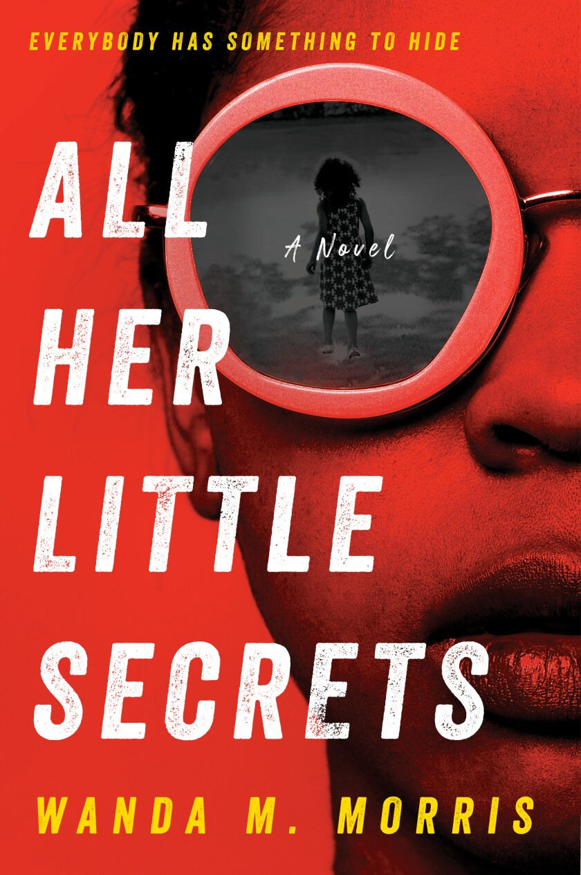 """Book cover by """"All his little secrets"""" by Wanda M. Morris"""