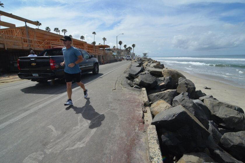 Oceanside is set to widen and improve a section of South The Strand near Wisconsin Avenue. The road was damaged by storms in 1980. The city and the developer of a condominium complex nearby will share in the $295,00 cost of the improvements.