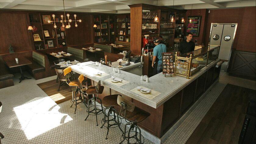 Flintridge Proper Restaurant & Bar in La Canada Flintridge on Thursday, May 30, 2013. (Tim Berger/St
