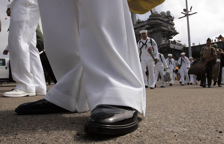 USS Reagan returns from duty