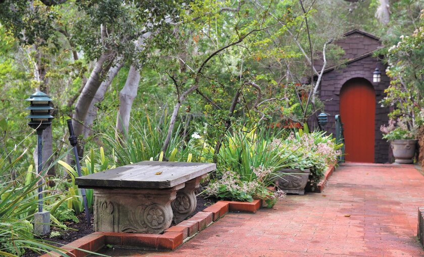 The Mission Hills garden of Laura Wile will be featured in the SD Horticultural Society/San Diego Floral Society combined garden tour, which is linked to the Balboa Park centennial.