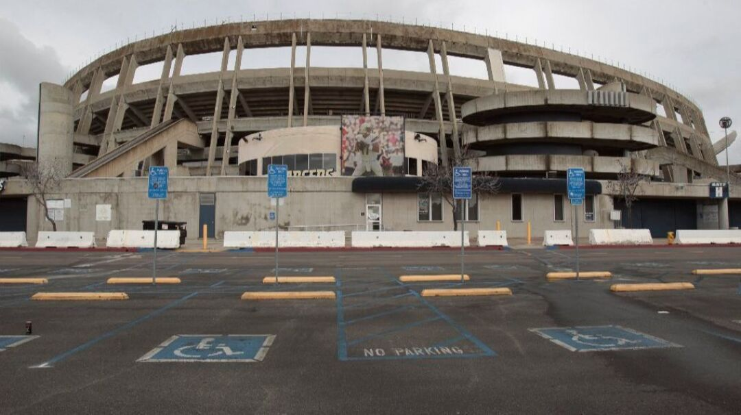 The former Chargers stadium