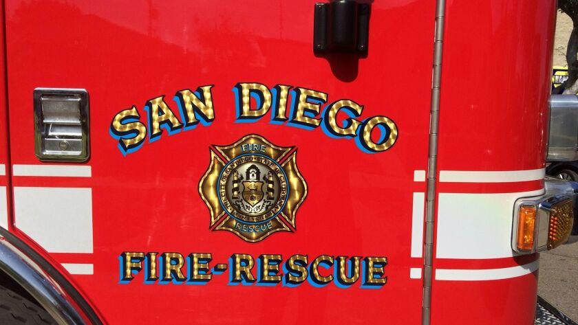 San Diego fire truck / fire engine San Diego Fire-Rescue Department