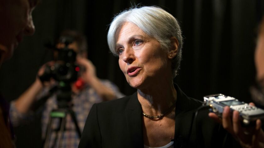 Green party presidential candidate Jill Stein also plans to request recounts in Michigan and Pennsylvania with the millions she has raised online.