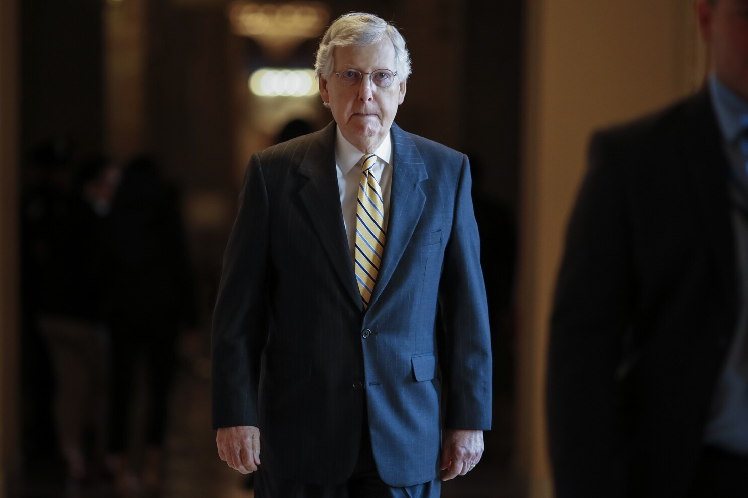 Mitch Mcconnell S Coronavirus Relief Bill Wasn T Worth The Wait Los Angeles Times