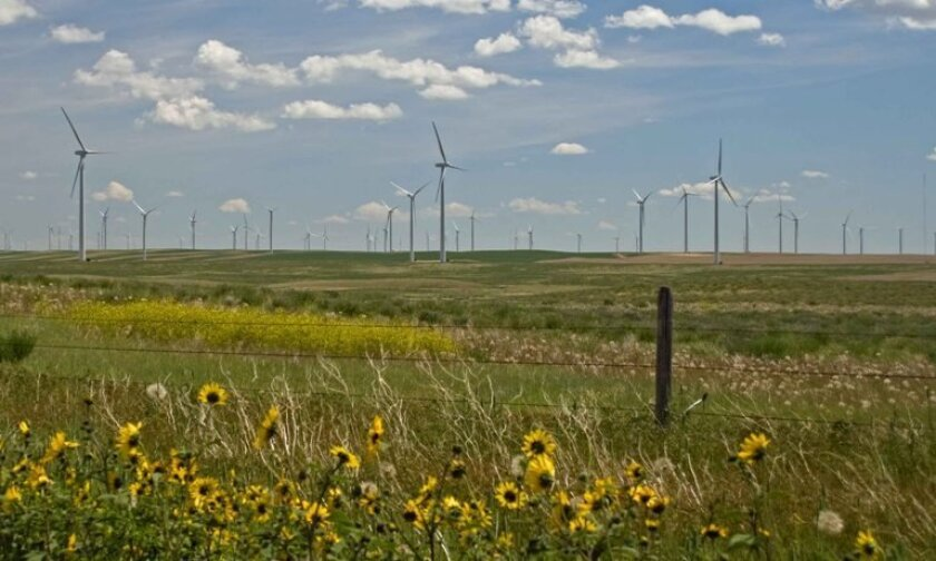 NaturEner's Glacier Wind project in northern Montana is under contract to SDG&E, which has agreed to finance another wind farm nearby and buy its power.